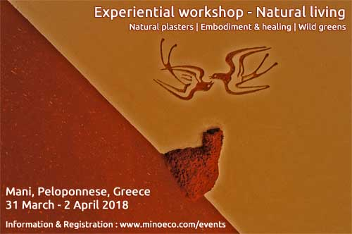 Experiential workshop - Natural living