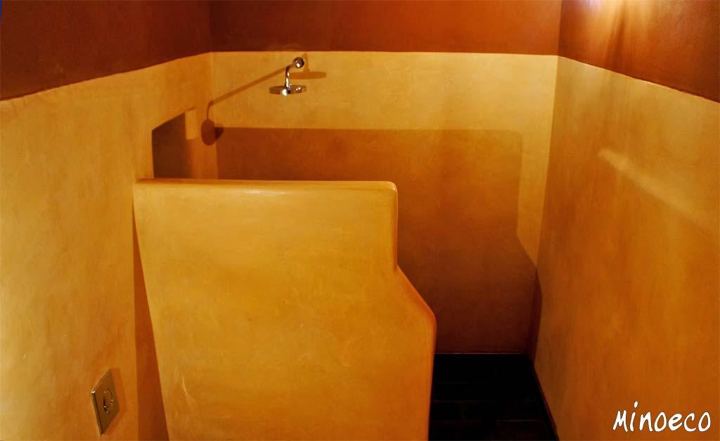 Μπάνιο από τάντελακτ και χωμάτινο επίχρισμα. Πελοπόννησος